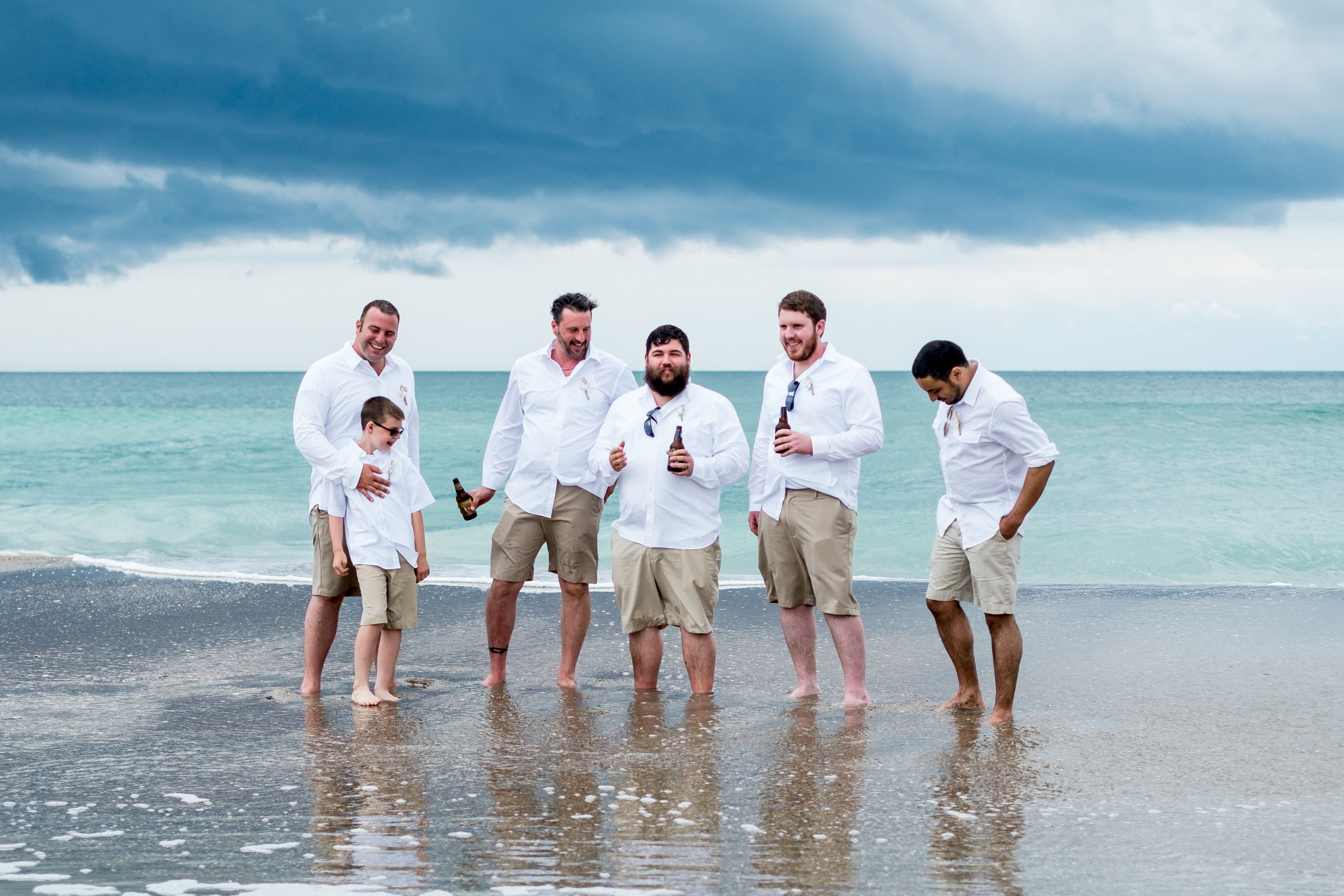 Sample Photos From The Wedding Of Kate Congleton And Aaron Norris On Beach At Emerald Island Nc More Samples Available